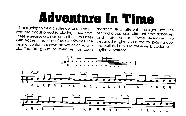 "Drummer Cafe presents: ""Adventures in Time"" Lesson"