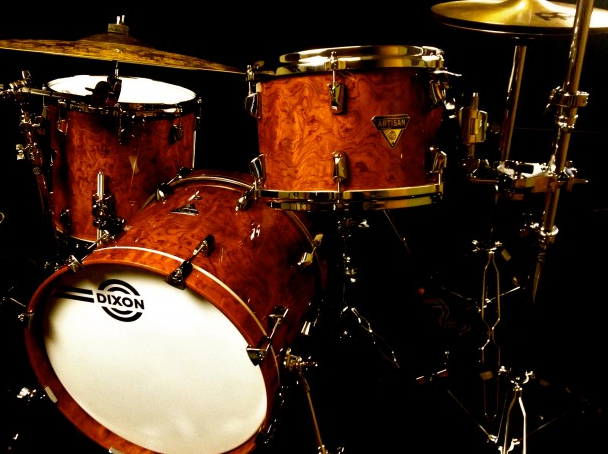 Modern Drummer Product Close-Up: Dixon Artisan Select Drumset