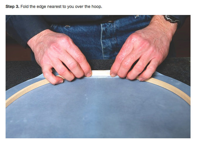 How To Tuck Calfskin Heads (from DRUM!)