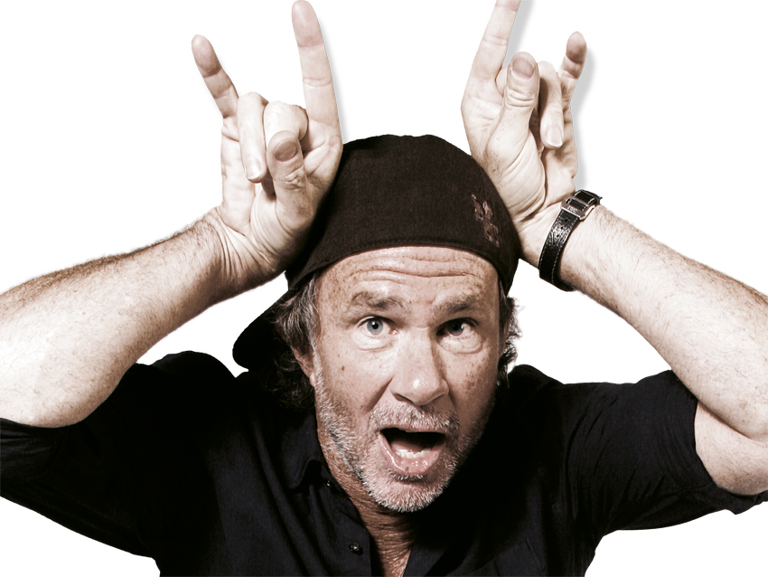 Guy trolls Chad Smith, Chad Smith retweets to his 323k followers