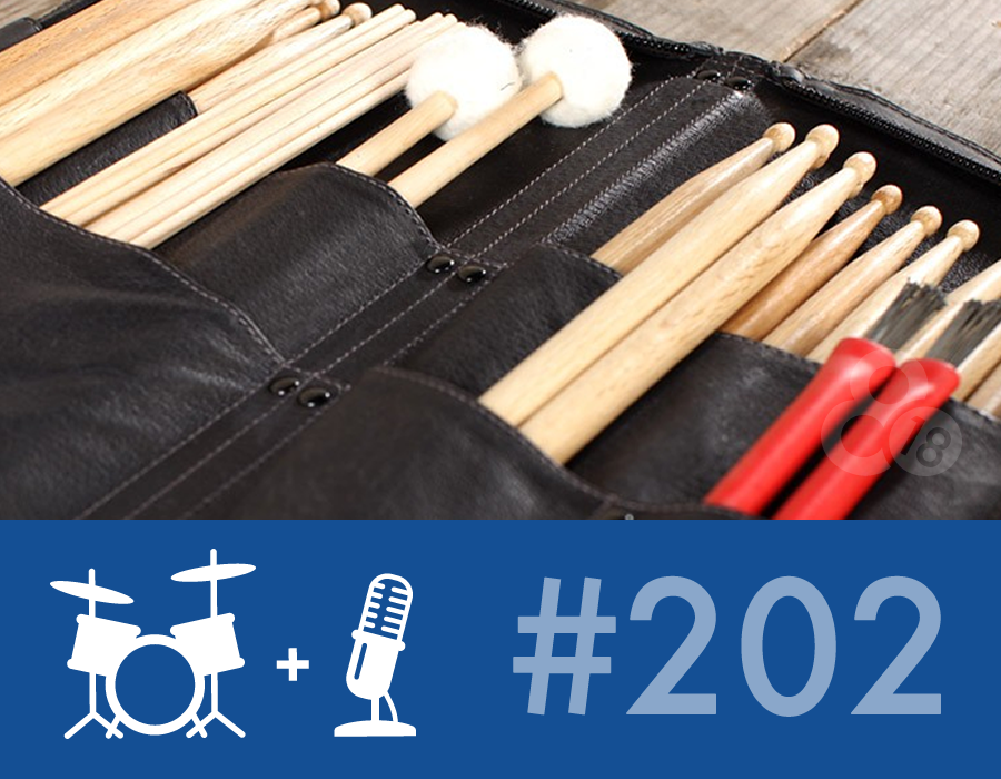 Drummer Talk 202 – All About Stick Bags