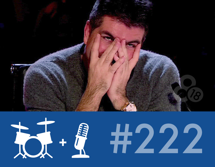 "Drummer Talk 222 – Surviving The ""Pro"" Audition"